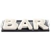 Red Vanilla 4 Piece Bar Divided Serving Dish Set