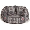Danish Design Fairisle Pebble Deluxe Slumber Bed in Blue/Grey