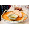 Abigails Pamplona Round Platter with Rope Edge