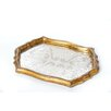 Abigails Vendome Leaf Vintage Fabric Tray