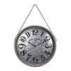 "Wilco Home 17"" Printed Wall Clock"