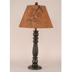 "Coast Lamp Mfg. Rustic Living Swirl 32"" H Table Lamp with Empire Shade"