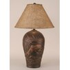 "Coast Lamp Mfg. Rustic Living Fish Pot 30.5"" H Table Lamp with Empire Shade"