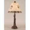 "Coast Lamp Mfg. Rustic Living Tree Trunk 27"" H Table Lamp with Empire Shade"