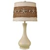 "Coast Lamp Mfg. Coastal Living Smooth Genie Bottle Pot 28"" H Table Lamp with Empire Shade"