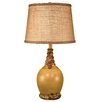 """Coast Lamp Mfg. Casual Living Round 23.5"""" H Table Lamp with Empire Shade"""