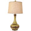 "Coast Lamp Mfg. Casual Living Aladdin Pot 29"" H Table Lamp with Empire Shade"