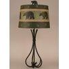 "Coast Lamp Mfg. Rustic Living Iron 5-Leg 32.5"" H Table Lamp with Empire Shade"