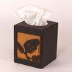 Coast Lamp Mfg. Pine Cone Square Tissue Box Cover