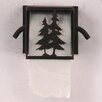 Coast Lamp Mfg. Pine Tree Wall Mounted Toilet Paper Box Holder