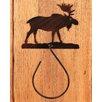 "Coast Lamp Mfg. Moose 13"" Wall Mounted Hand Towel Holder"