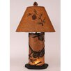 "Coast Lamp Mfg. Pine Cone 30"" H Table Lamp with Empire Shade"