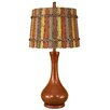 "Coast Lamp Mfg. Smooth Genie Bottle Pot 29"" H Table Lamp with Empire Shade"