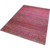 Think Rugs Satin Hand-Tufted Red Area Rug