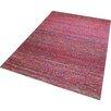 Think Rugs Handgetufteter Teppich Satin in Rot