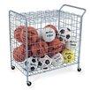 Virco Portable Sports Ball Locker Utility Cart