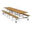 "Virco 12"" x 30"" Rectangular Cafeteria Table"