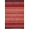 Nourison Ki08 Griot Hand-Woven Red Area Rug