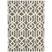 Nourison Linear Hand-Woven Grey Area Rug