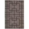 Nourison Handgewebter Wohnteppich Maze in Grau
