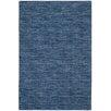 Nourison Handgewebter Wohnteppich Grand Suite in Blau