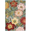 Nourison Fantasy Hand-Hooked Multi-Coloured Area Rug