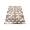 Nourison Handgewebter Wohnteppich Maze in Beige und Grau