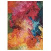Nourison Celestial Yellow/Pink Area Rug