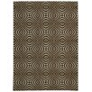 Nourison Enhance Chocolate Area Rug