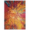 Nourison Celestial Yellow/Red Area Rug