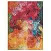 Nourison Celestial Orange/Red Area Rug