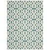 Nourison Enhance Mint Blue Area Rug