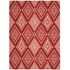 Nourison Enhance Red Area Rug