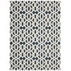 Nourison Enhance Blue/White Area Rug