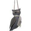 Sage & Co. Halloween Cloth Hanging Owl Ornament (Set of 6)