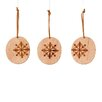 Sage & Co. Appalachian Lodge Disk Snowflake Ornament (Set of 24)