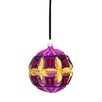 Sage & Co. Modern Opulence Flower Jewel Tone Glass Ornament (Set of 6)