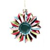 Sage & Co. Modern Opulence Glass Concave Ornament (Set of 6)