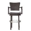 "Patio Heaven Signature 28"" Bar Stool with Cushion"