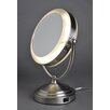 Floxite 8x/1x Lighted Vanity Mirror without Outlet