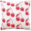 Artgoodies Cherry Throw Pillow