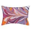 D.L. Rhein Marbled Madness Linen Lumbar Pillow
