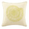 D.L. Rhein Trochus Embroidered Decorative Linen Throw Pillow