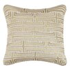D.L. Rhein Labyrinth Linen Throw Pillow