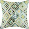 D.L. Rhein Bullseye Linen Throw Pillow