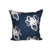 Rennie & Rose Design Group Octopoda Throw Pillow