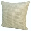 Rennie & Rose Design Group Island Protege Grid Linen Throw Pillow