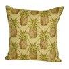 Rennie & Rose Design Group Coastal Pineapple Indoor/Outdoor Throw Pillow