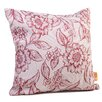 Rennie & Rose Design Group Hawthorne Floral Throw Pillow