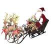 Santa's Workshop Reindeer Express Figurine